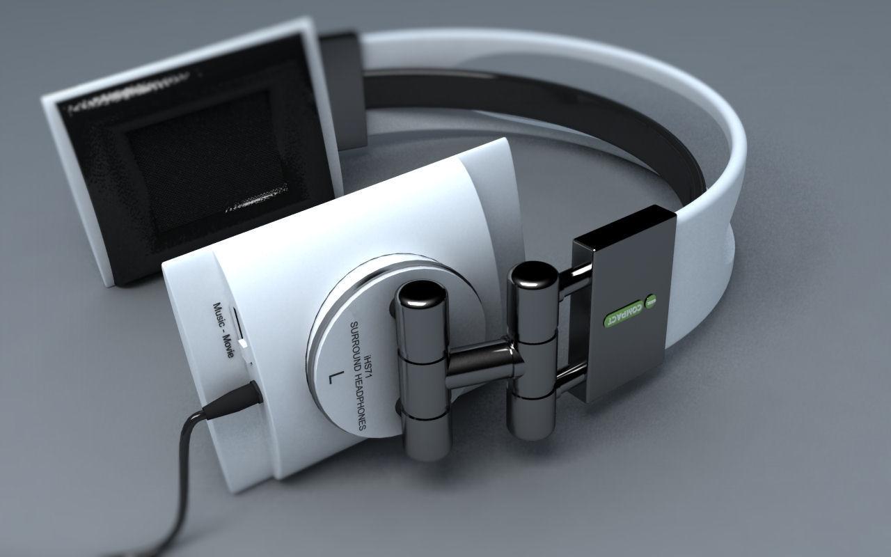 3D Design - Concept hoofdtelefoon 1