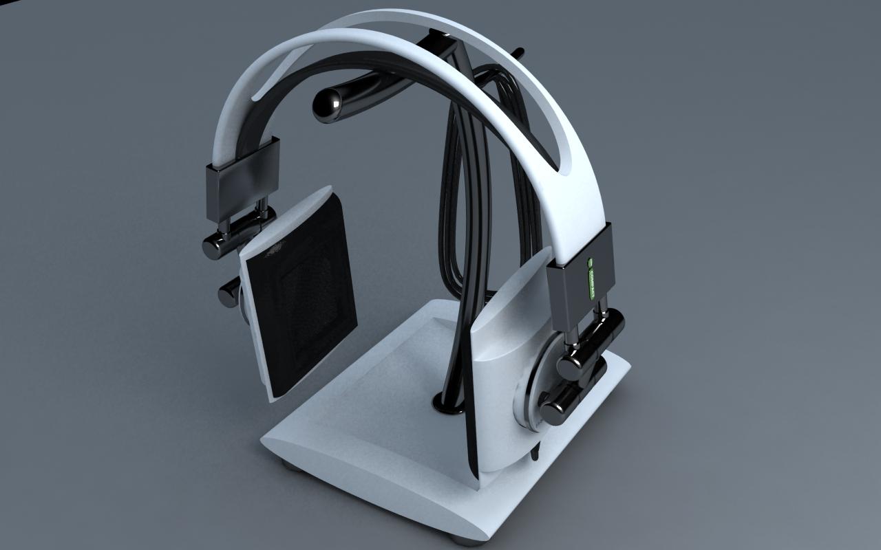 3D Design - Concept hoofdtelefoon 2