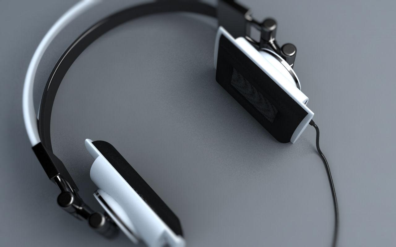 3D Design - Concept hoofdtelefoon 3