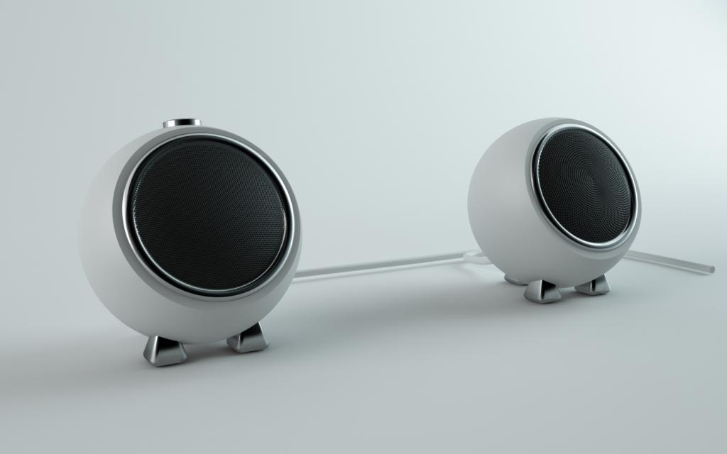 3D Design - Mini speakers