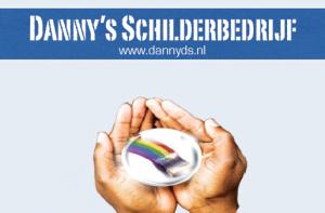 DannysSchilderbedrijf - Visitekaartje Achterzijde